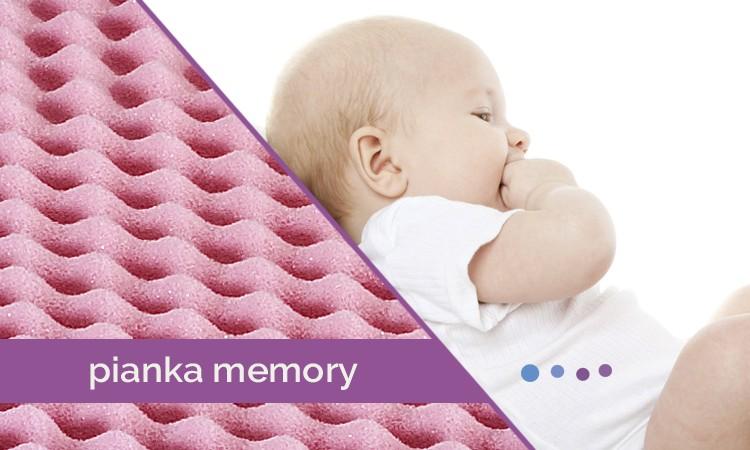 Pianka Visco (Memory) – sen jak na chmurce - Blog Baby's Zone - Gwarancja zdrowego snu Twojego dziecka