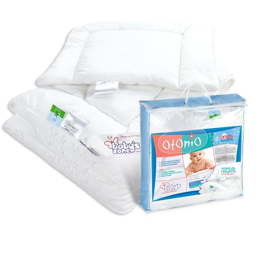 AEGIS ACTIVE HYGIENE kołderka z poduszką  dla dziecka 135 cm x 100 cm