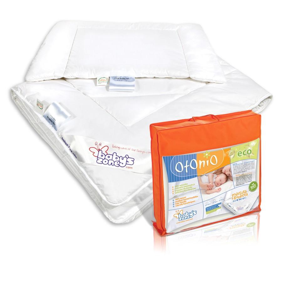 ECO kołderka z poduszką  dla dziecka-135cm x 100cm