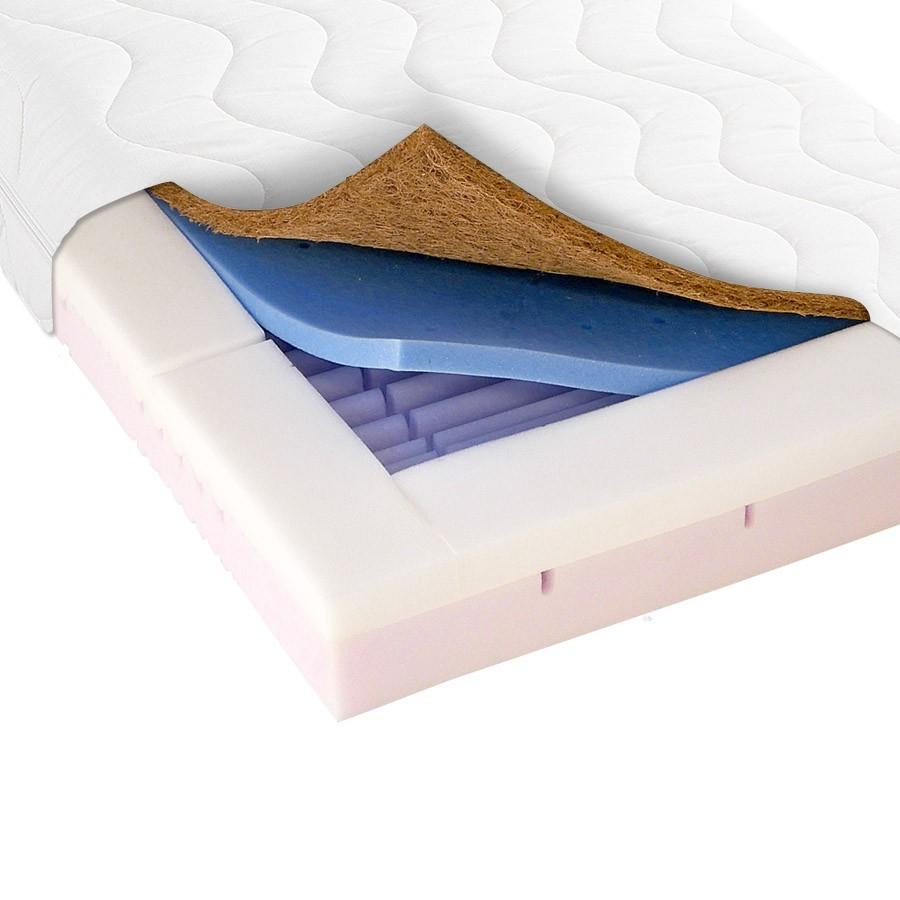 Materac do łóżeczka QUATRO KOKOS COMFORT 120cm x 60cm