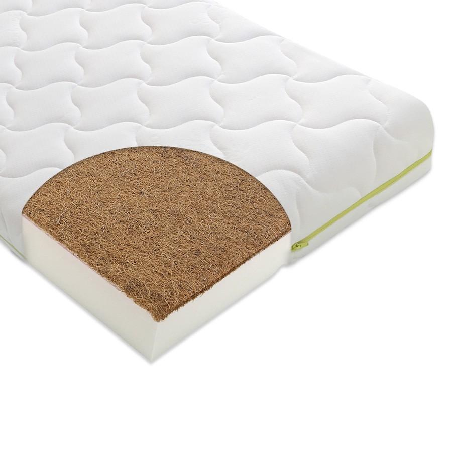 Materac do łóżeczka UNO KOKOS 120cm x 60 cm