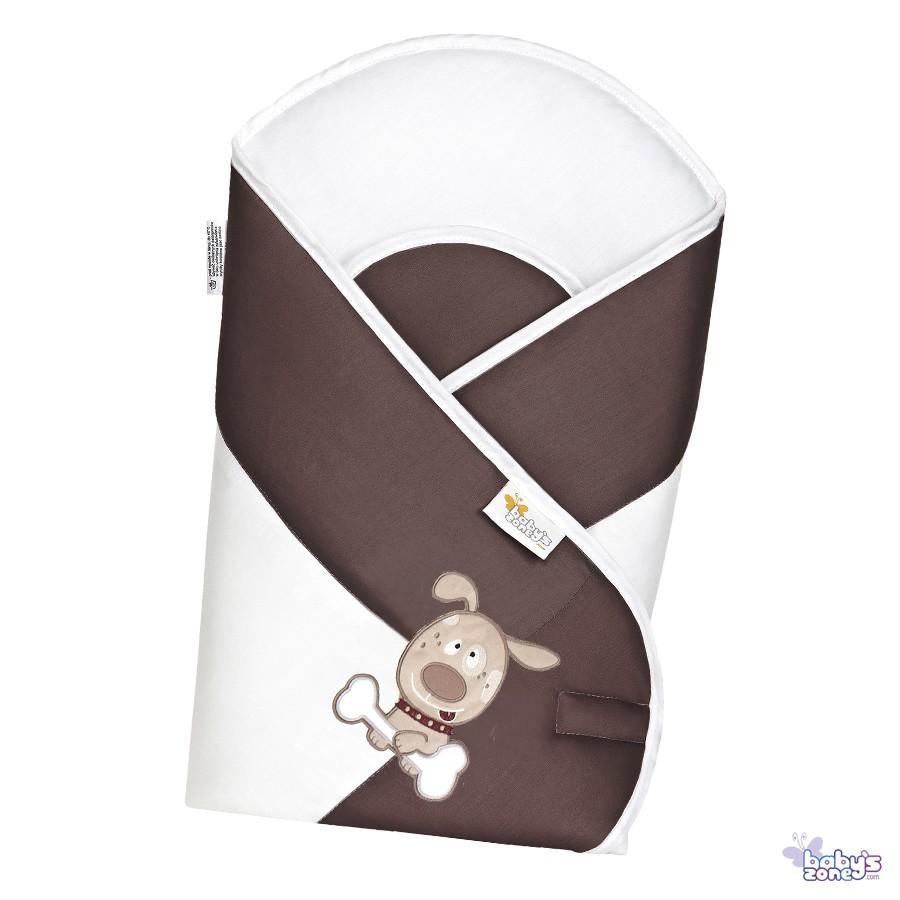 PIESKI DWA Brąz Becik Rożek dla niemowląt
