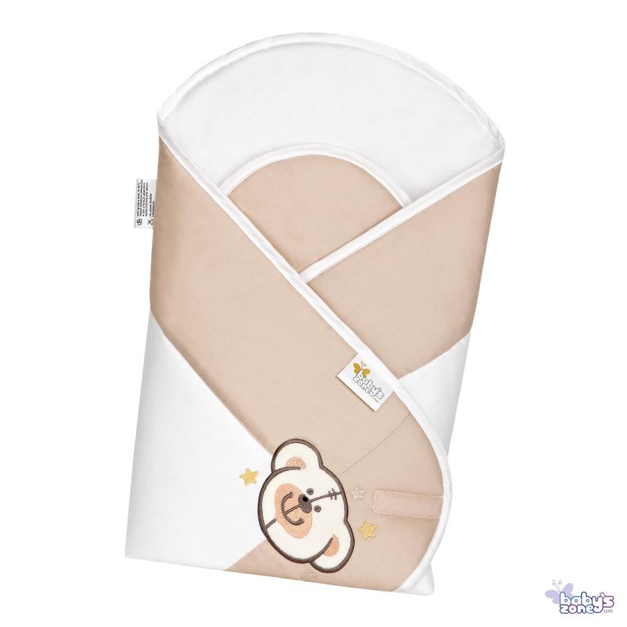 SŁODKIE MISIE Becik Rożek dla niemowląt