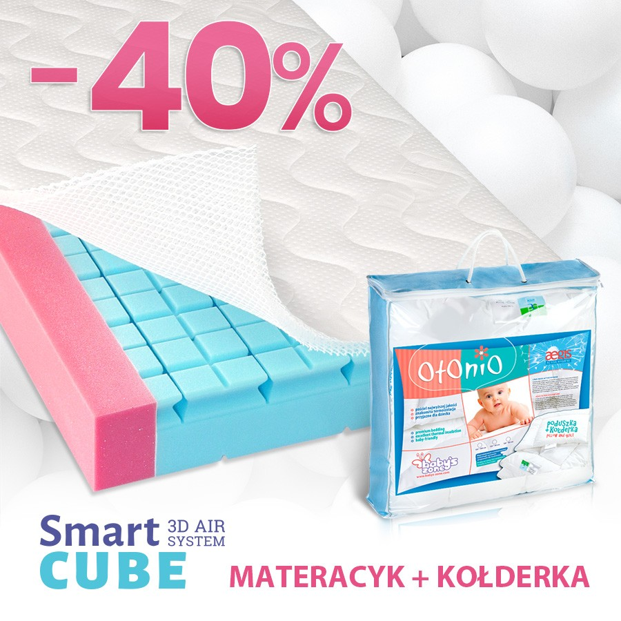 Smart Cube 3D Air + kołderka Aegis gratis