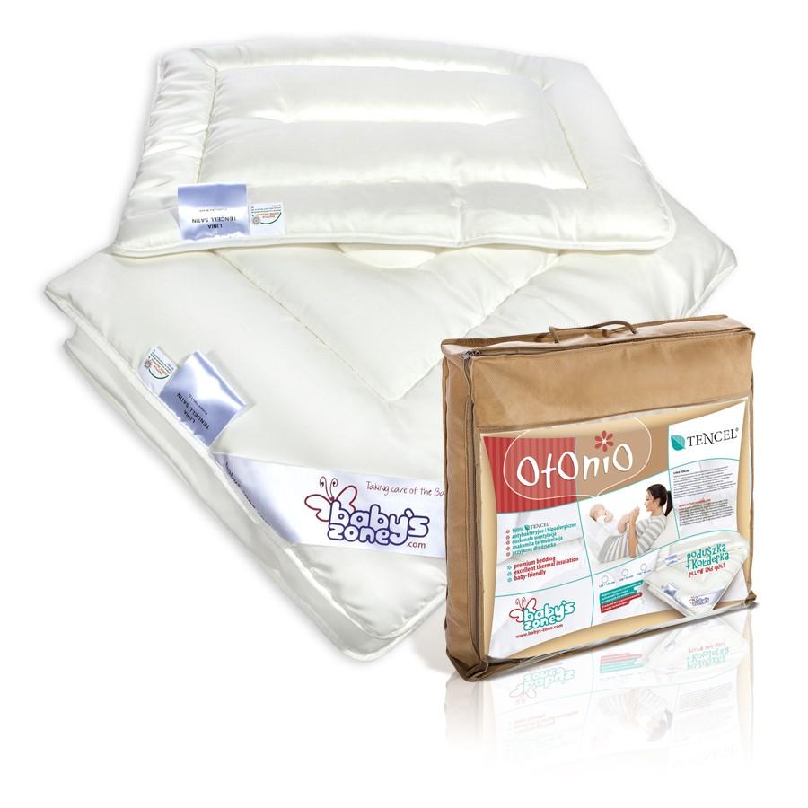 TENCEL kołderka z poduszką  dla dziecka 135cm x 100cm