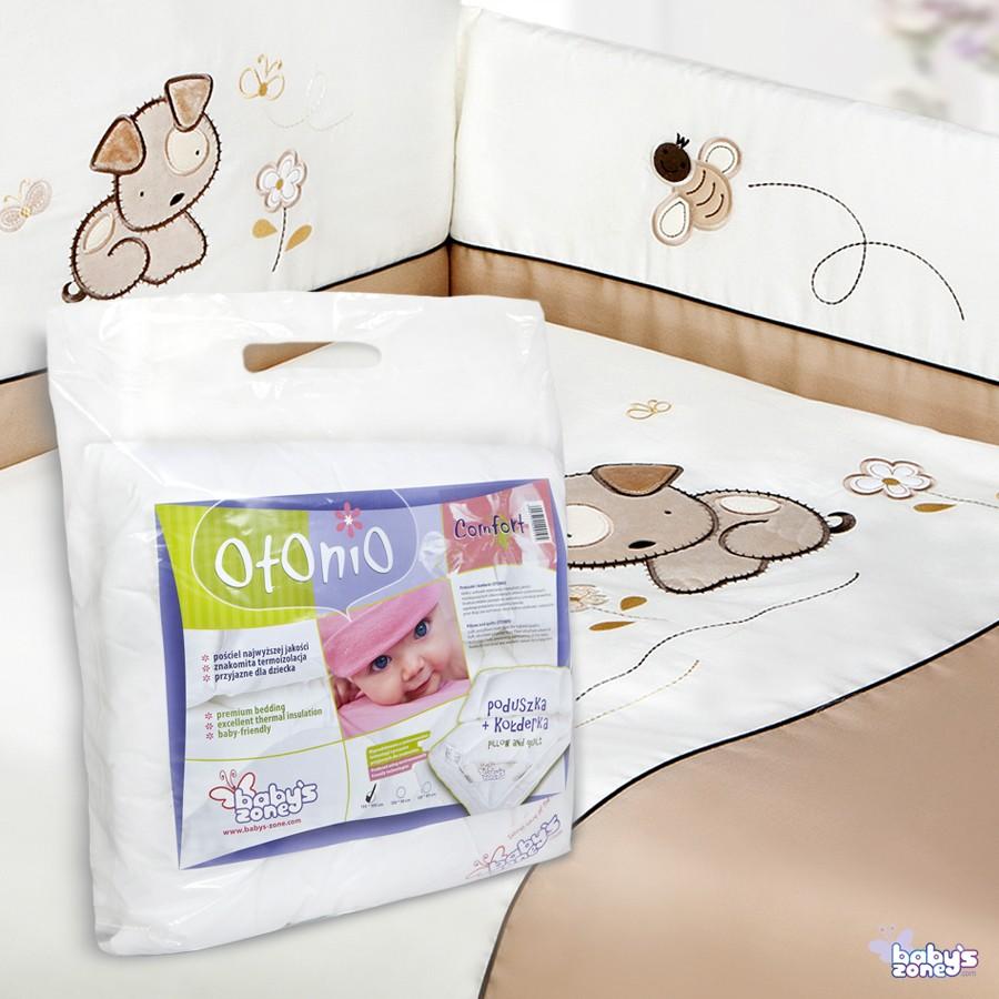 Zestaw Baby's Zone - PIESEK BERBEREK 3 elementowa pościel dla dziecka  + OTONIO - COMFORT Kołderka z poduszką 135cm x 100cm