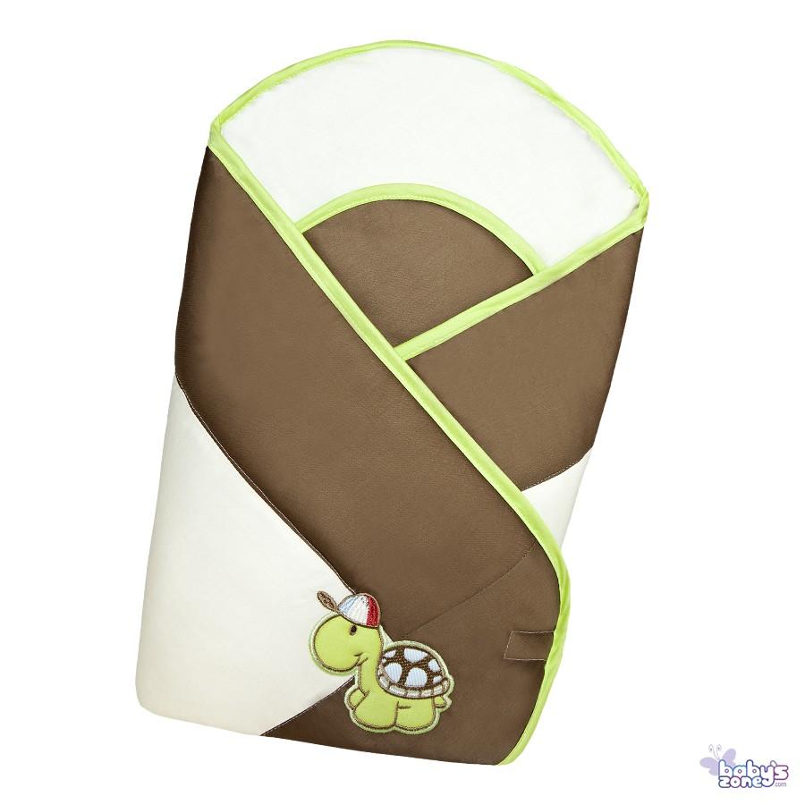 Żółwiowa Rodzinka - Becik Rożek dla niemowląt